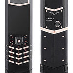 фото Vertu Signature S Design Black PVD Red Gold сотовые телефоны